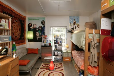 25 cool ideas for decorating your dorm room - College living room decorating ideas for students ...