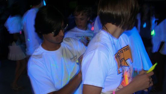 Blacklight Party Pic