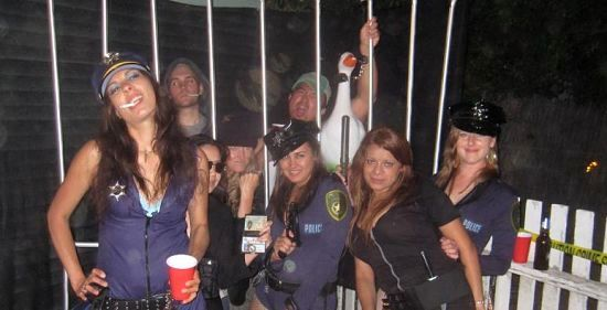 Cops and Robbers Party Pic