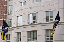 George Washington University is the most expensive college