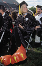Hokie Feet at Graduation