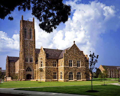 Paul Barret Jr Library at Rhodes College