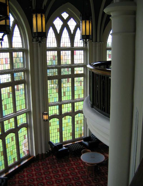 Inside Paul Barret, Jr. Library