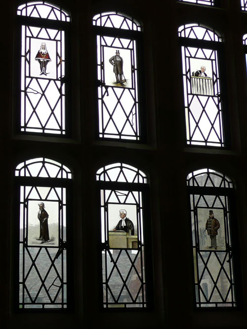 Yale Law Library Windows Stained Glass