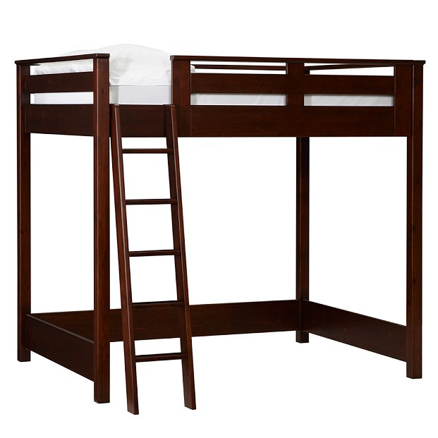 free loft bed plans twin size