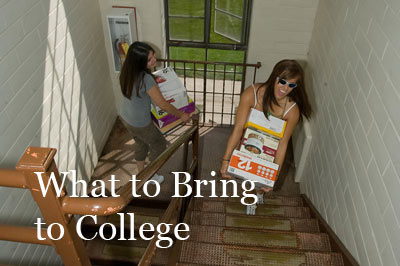 What to Bring to College