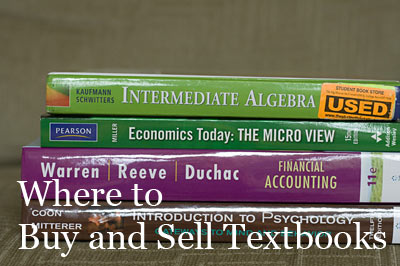 Where to Buy and Sell Textbooks