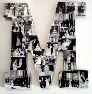 DIY Letter Picture Collage