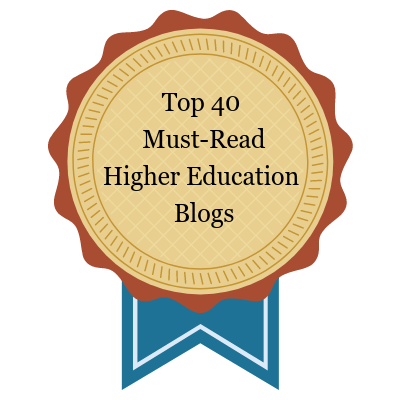 Top 40 Must-Read Higher Education Blogs
