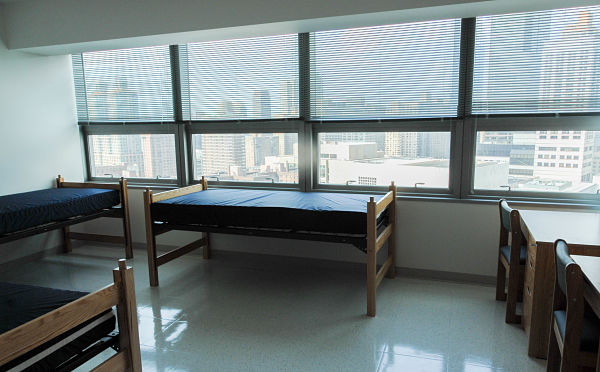 Inside Fordham University Dorm